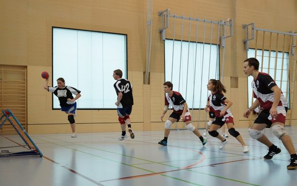 Tchoukball; Photo: OFSPO